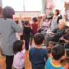 保育園児と地域交流会をしました!〈くつろ樹〉